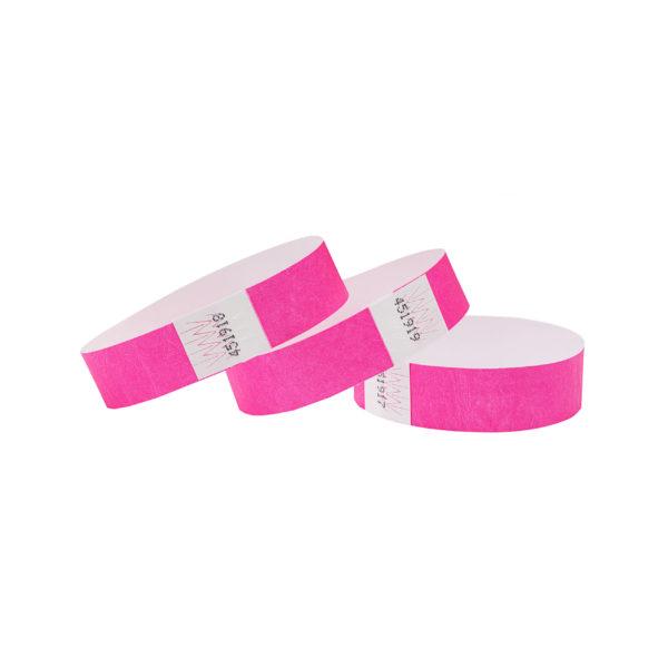 Neon-Pink-Tyvek-Wristbands-03